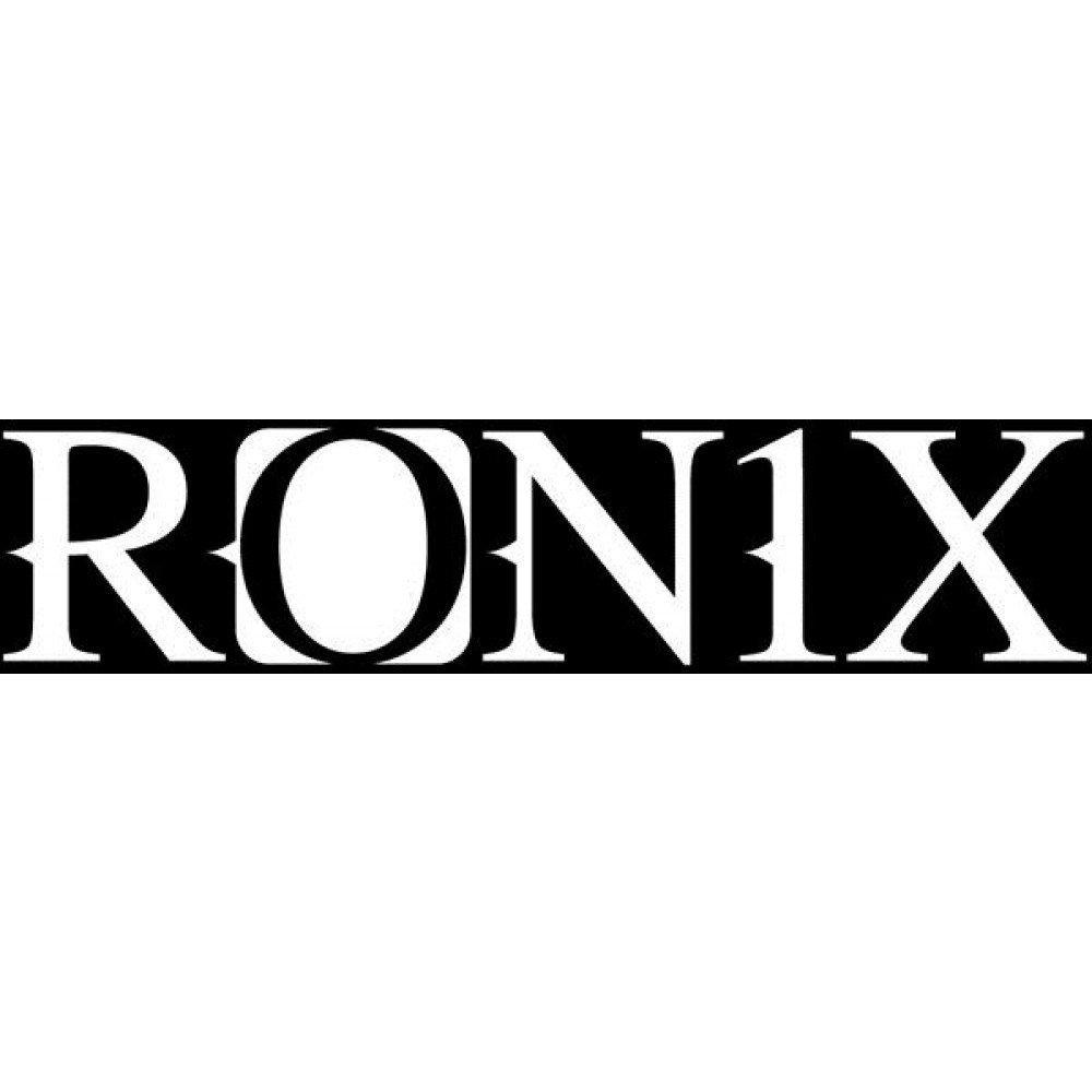 2.5''X9'' LOGO DIE CUT - WHITE RONIX 2019