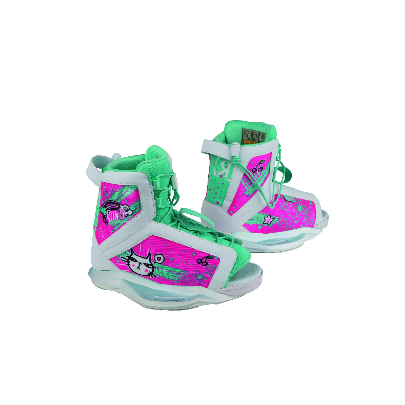 AUGUST - TURQUOISE / PINK BOOT EU 33-37/US 2-6 RONIX 2019
