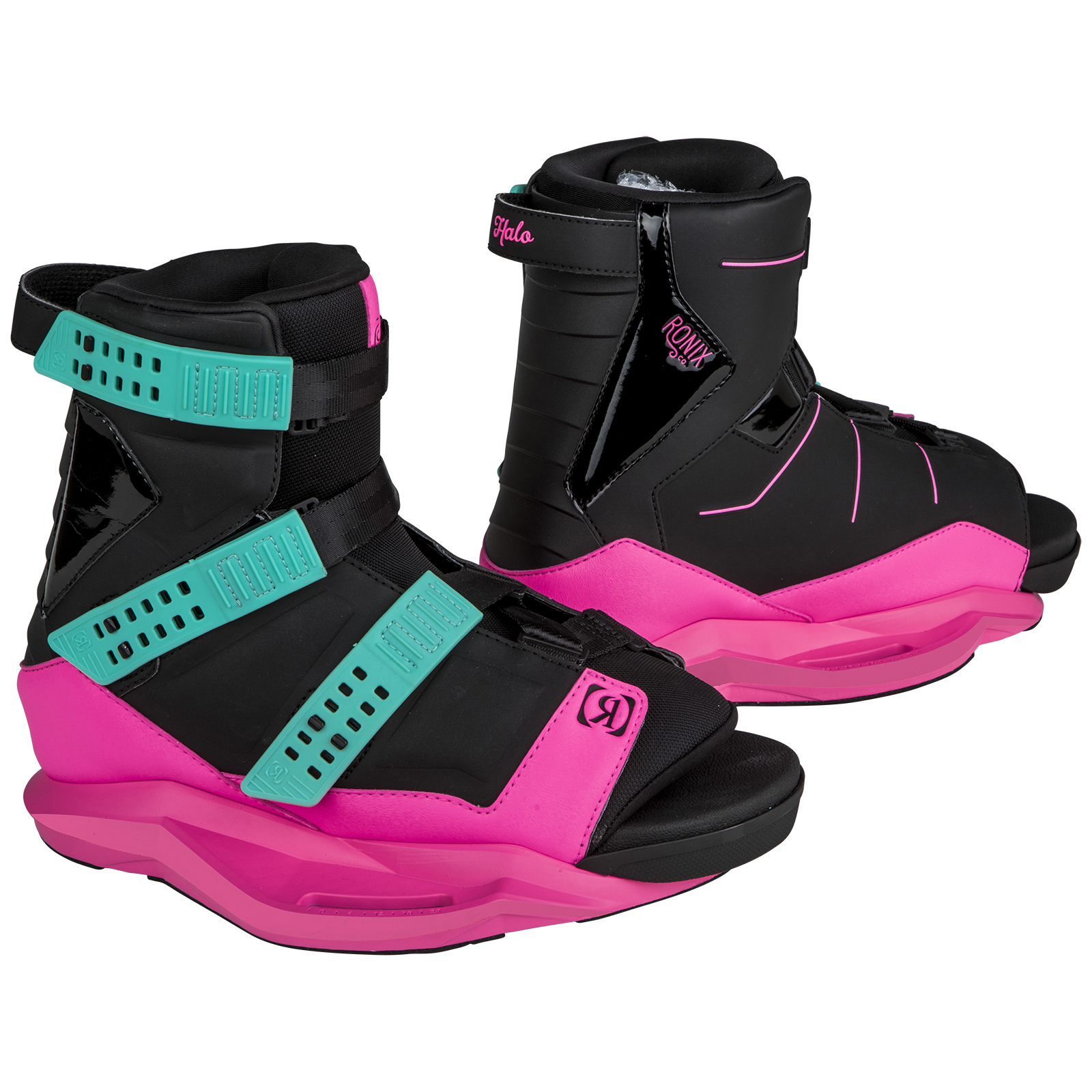 HALO - BLACK / PINK BOOT RONIX 2019