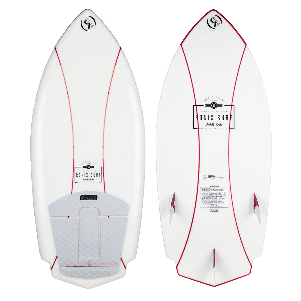 POTBELLY ROCKET NAKED 4.3 WOMEN'S WAKESURFER RONIX 2019