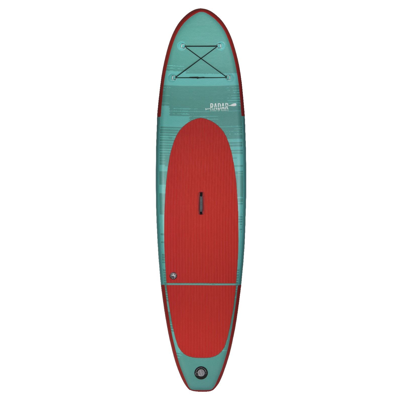 THE ZEPHYR - INFLATABLE - MINT / RED - 10'6'' W/ PUMP, PADDLE, & BAG RADAR 2019
