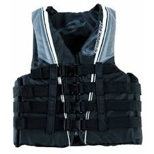 3 BUCKLE NYLON VEST | GREY/BLACK BASE SPORTS 2018
