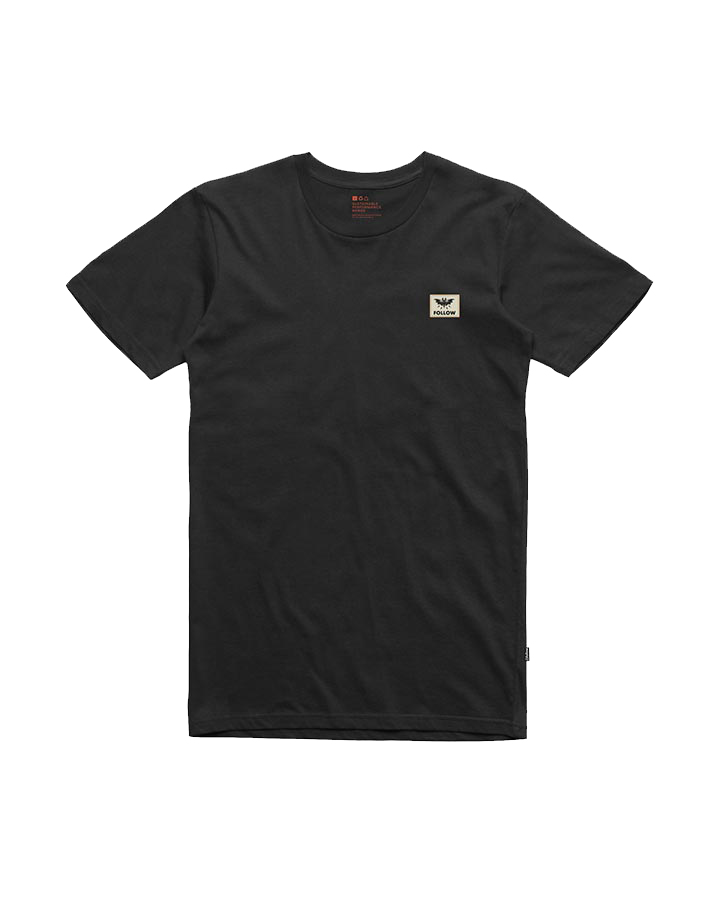 BAT TEE - BLACK FOLLOW 2019