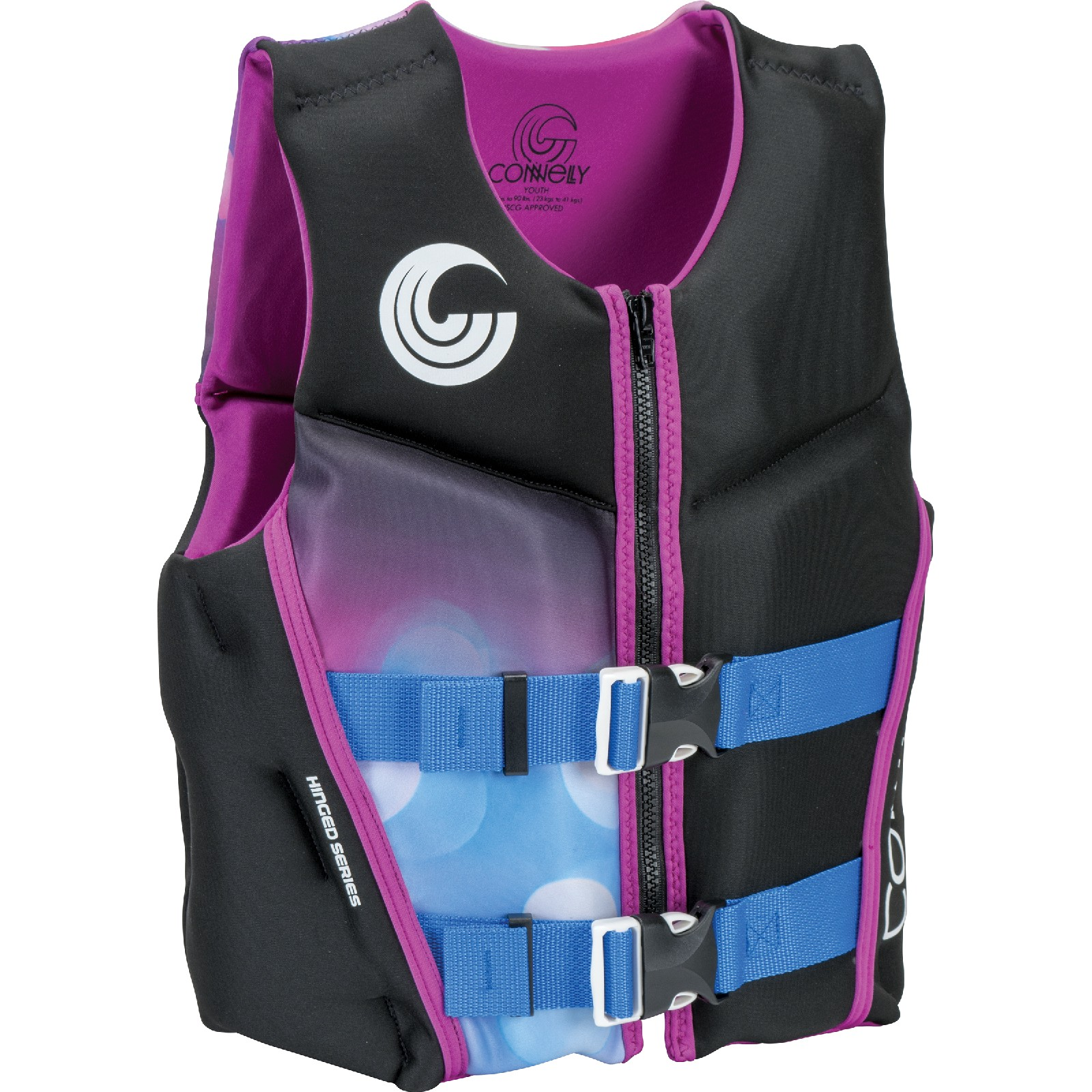 GIRL'S CLASSIC NEO LIFE VEST - YOUTH 22-40KG CONNELLY 2019