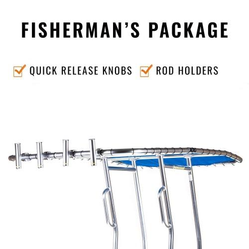 ORIGINAL UNIVERSAL T-TOP FISHERMAN'S PACKAGE FISHMASTER 2018