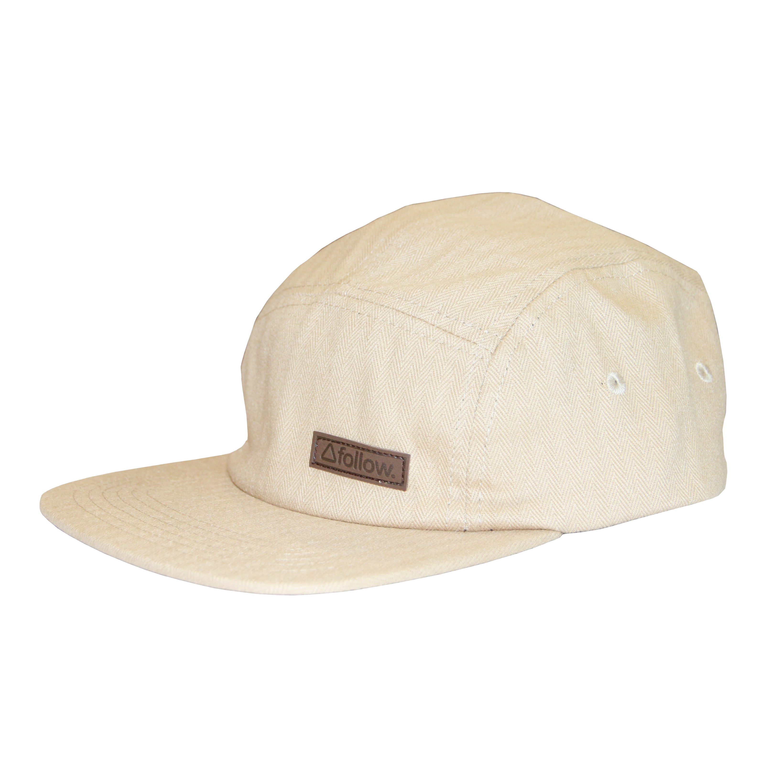 5 PANEL MENS CAP - KHAKI OSFM FOLLOW 2016