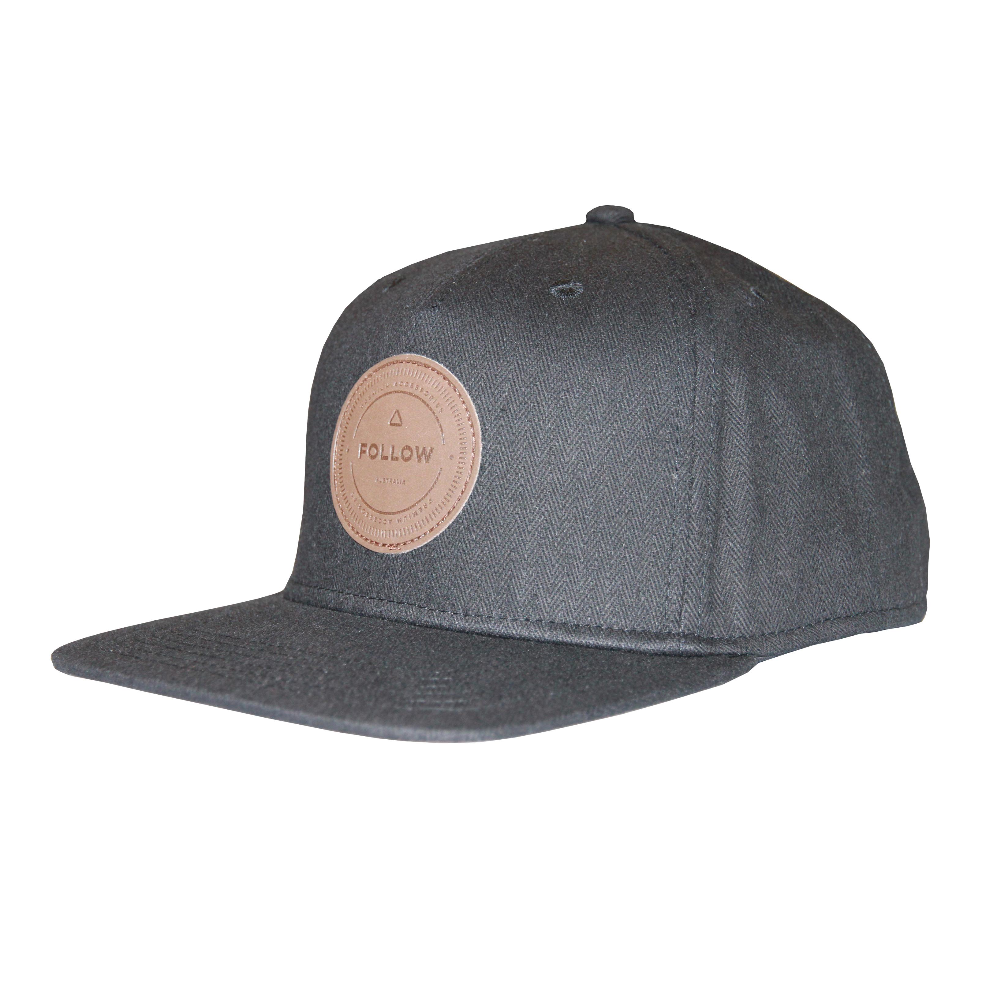 STAMP S/B  MENS CAP - BLACKOSFM FOLLOW 2016