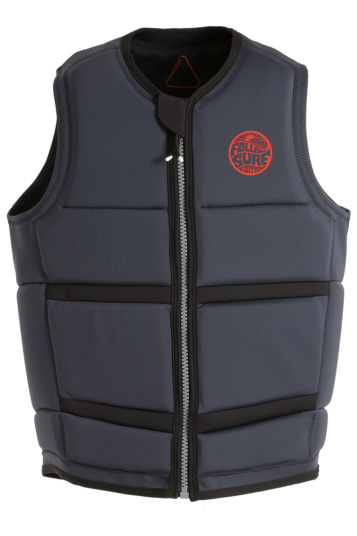 MENS SURF EDITON PLUS IMPACT VEST - BLACK FOLLOW 2019