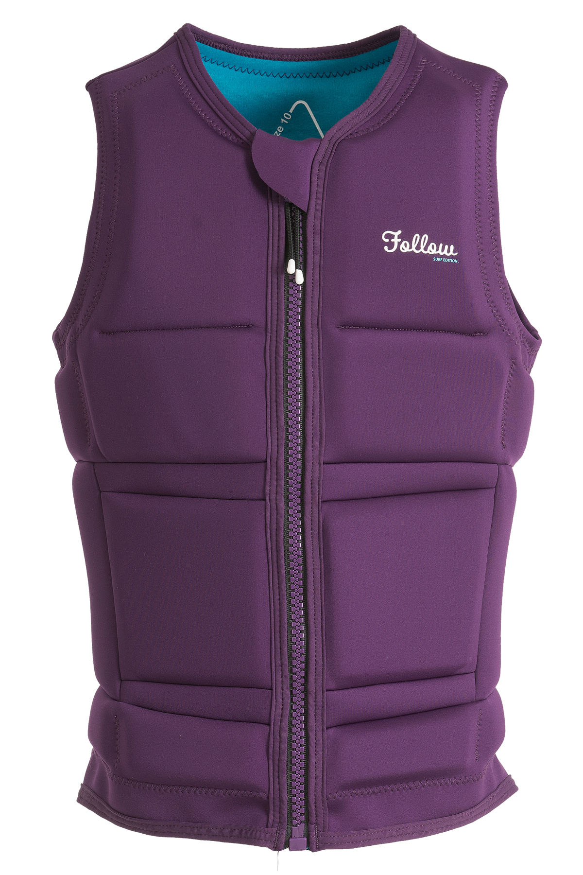 LADIES SURF IMPACT VEST  - PURPLE FOLLOW 2019