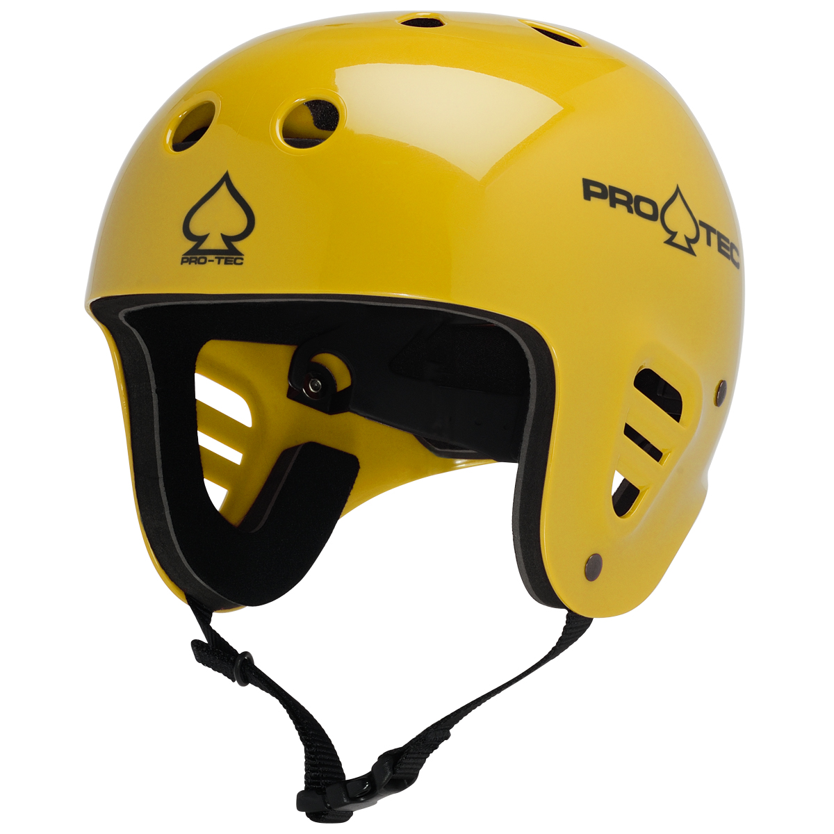 CLASSIC FULL CUT WATER GLOSS YELLOW  SMALL/MEDIUM (54-58CM) PRO TEC 2014