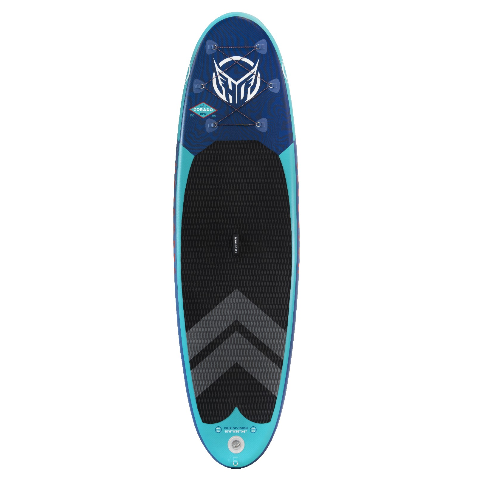 DORADO 10'6'' ISUP BOARD PACKAGE W/PADDLE HO SPORTS 2019