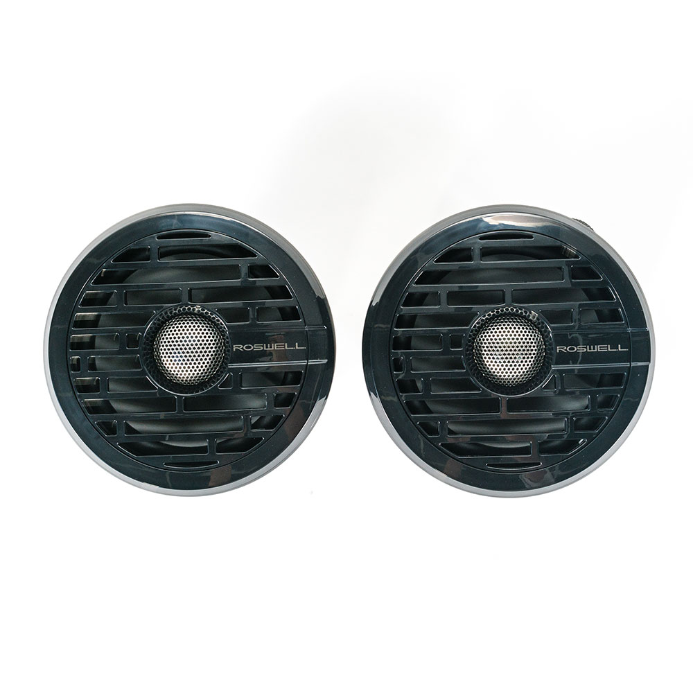 MARINE AUDIO R1 6.5'' IN-BOAT SPEAKERS - BLACK ROSWELL 2018