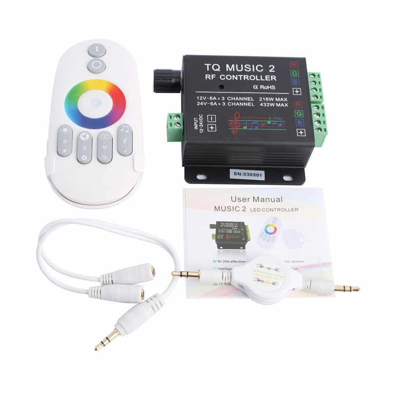 RGB WIRELESS LED CONTROLLER VARIOUS 2018