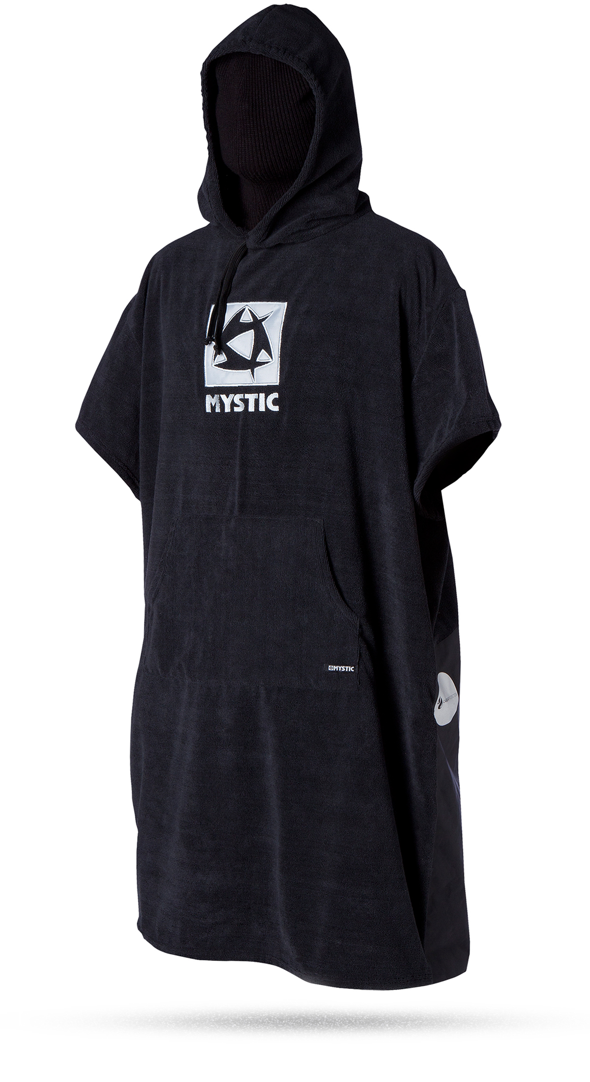 PONCHO DELUXE - BLACK - ONE SIZE MYSTIC 2016