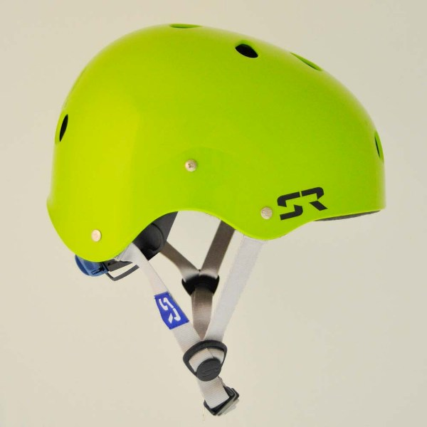 SESH HELMET FLASH GREEN SHRED READY 2018