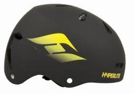 STEP UP HELMET | BLACK HYPERLITE 2018