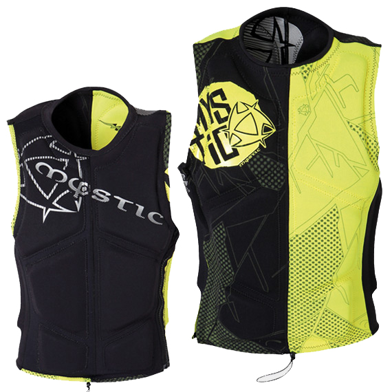 TRANSFORM WAKEBOARD VEST ZIP MYSTIC 2013