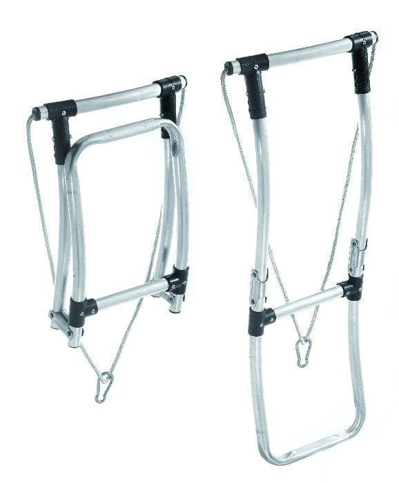 FOLDING LADDER RIBS 2 STEPS (ALU) TURBOSWING 2018