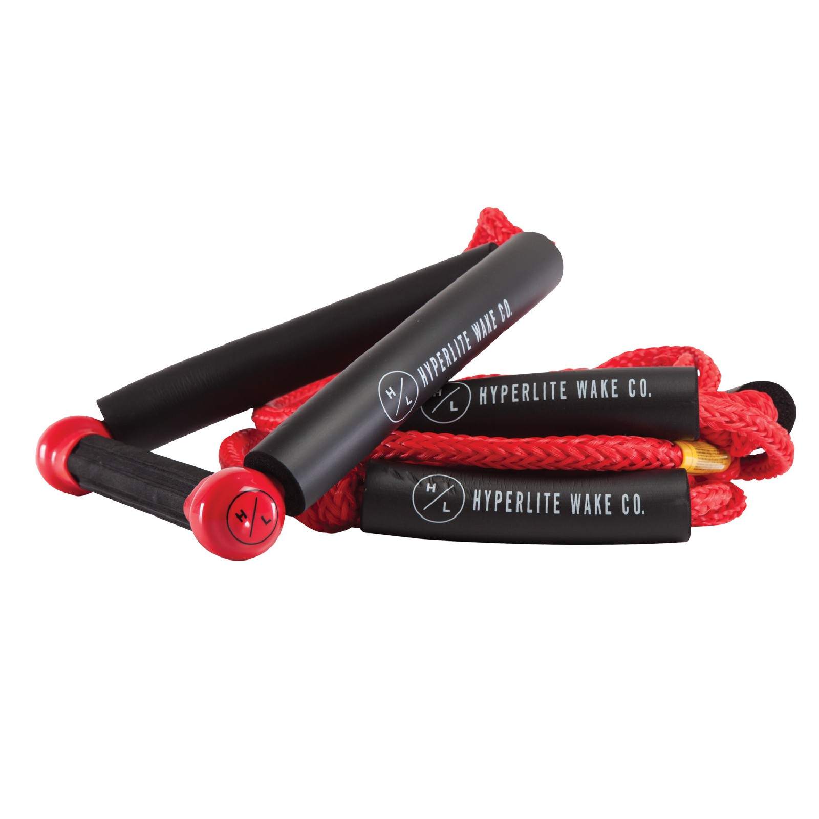 25' FT SURF ROPE W/HANDLE PACKAGE - RED HYPERLITE 2019
