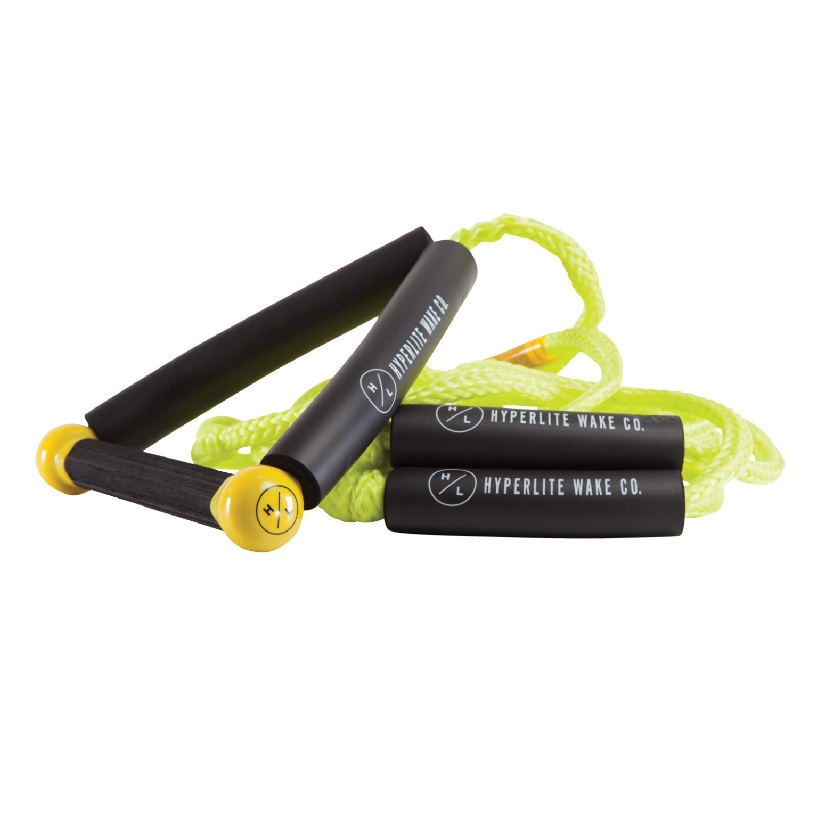 25' FT SURF ROPE W/HANDLE PACKAGE - YELLOW HYPERLITE 2019