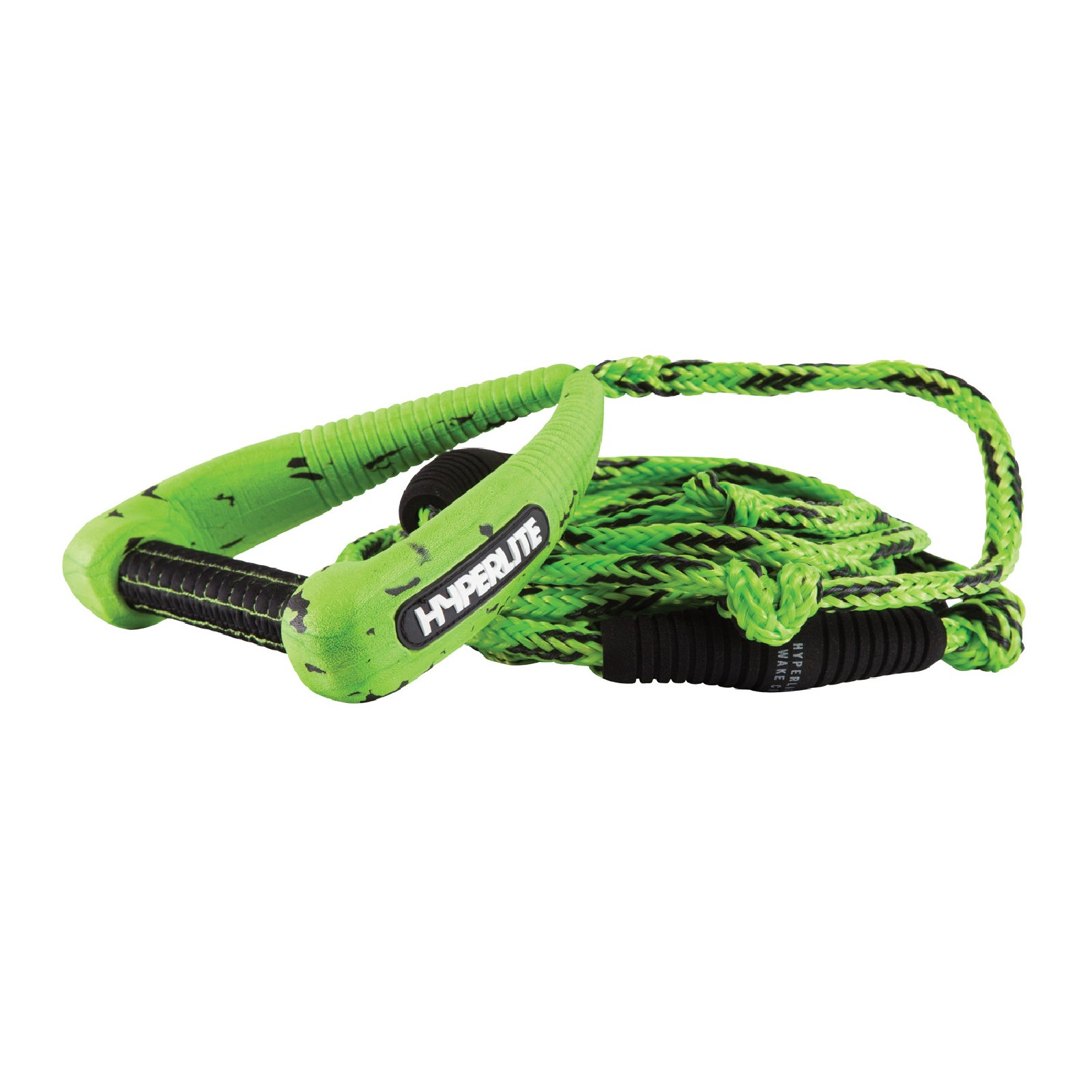 25' PRO SURF ROPE W/HANDLE PACKAGE - GREEN HYPERLITE 2019