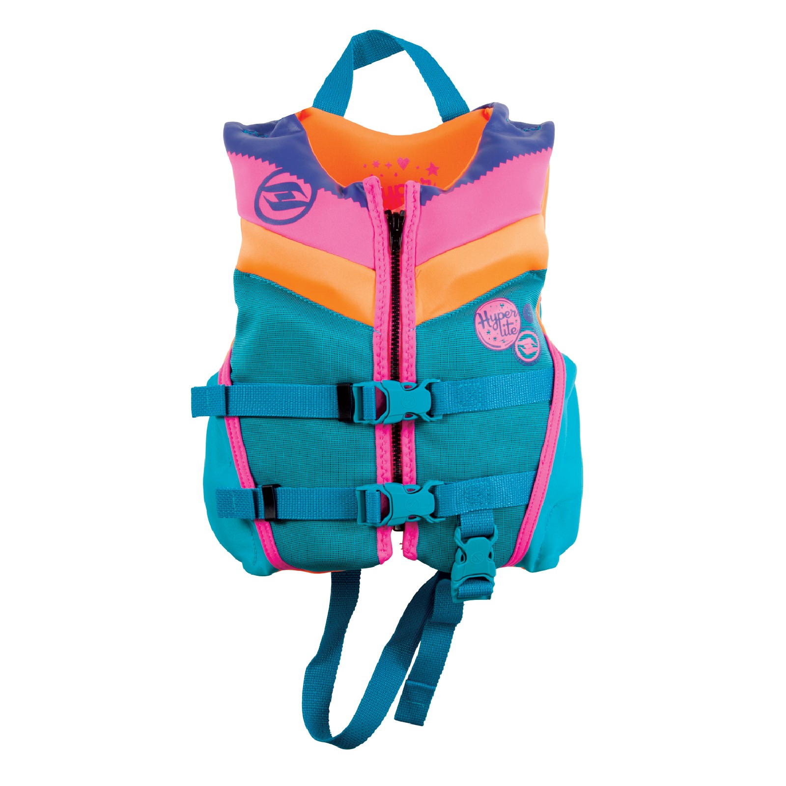 GIRL'S CHILD INDY NEO VEST 13-23KG HYPERLITE 2019